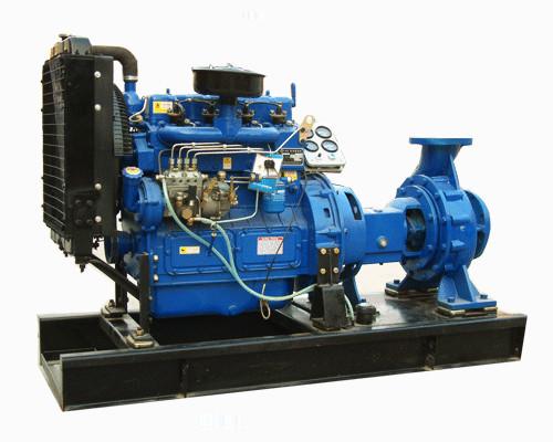 Pompa Air Diesel kapasitas besar (Indepnden)